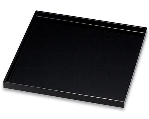 角盆 尺0 黒