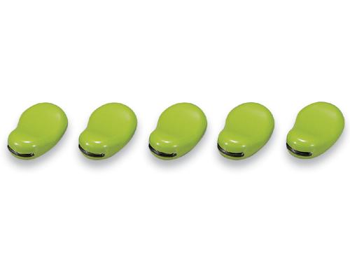 箸置 豆形 緑